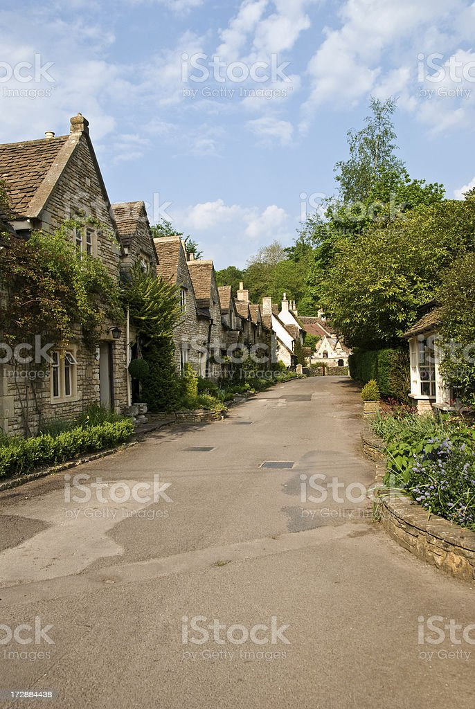 Cotswold Road royalty-free stock photo