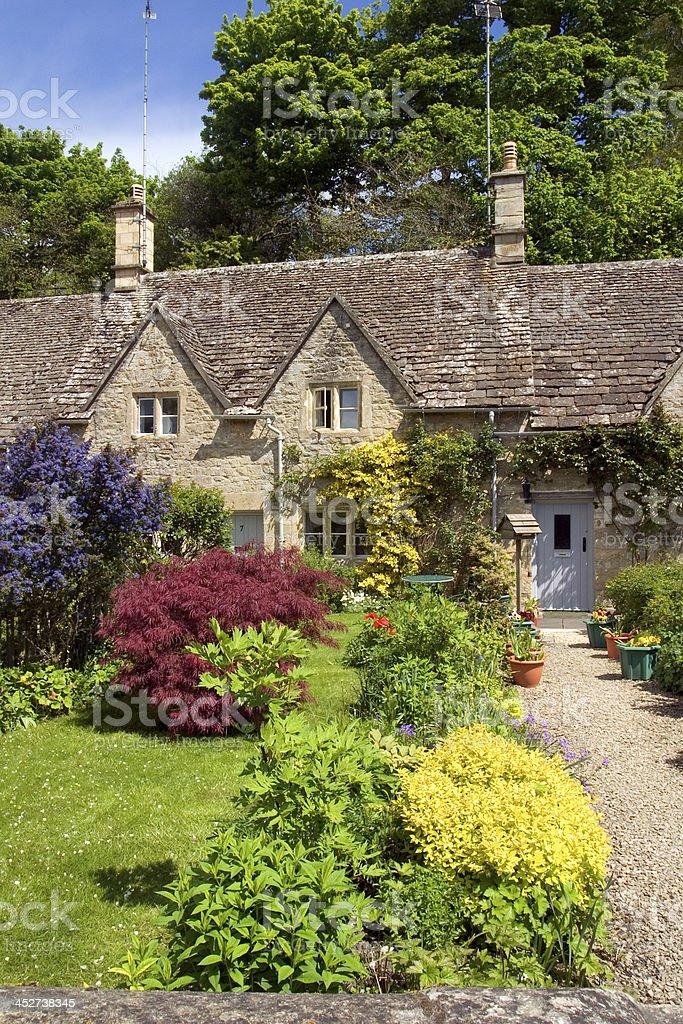UK, Cotswolds, Bibury stock photo