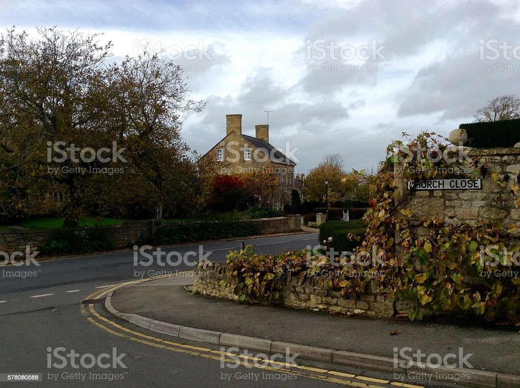 Cotswolds, England stock photo