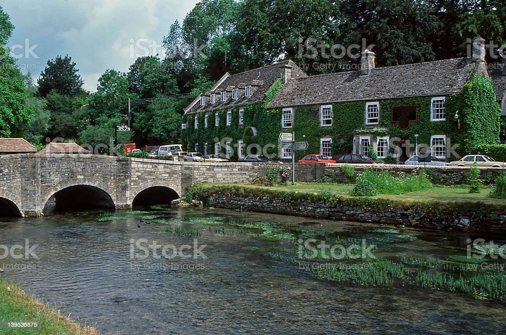 cotswolds hotel stock photo
