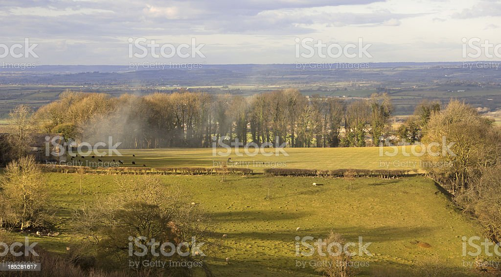 cotswolds stock photo