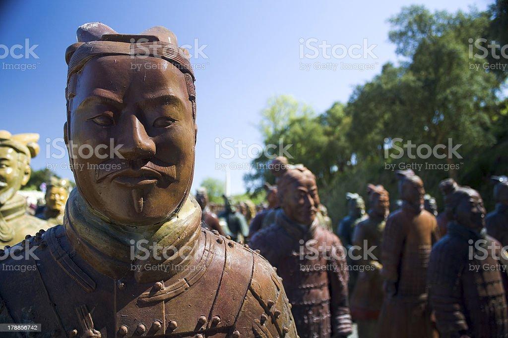 Cotta Warriors royalty-free stock photo