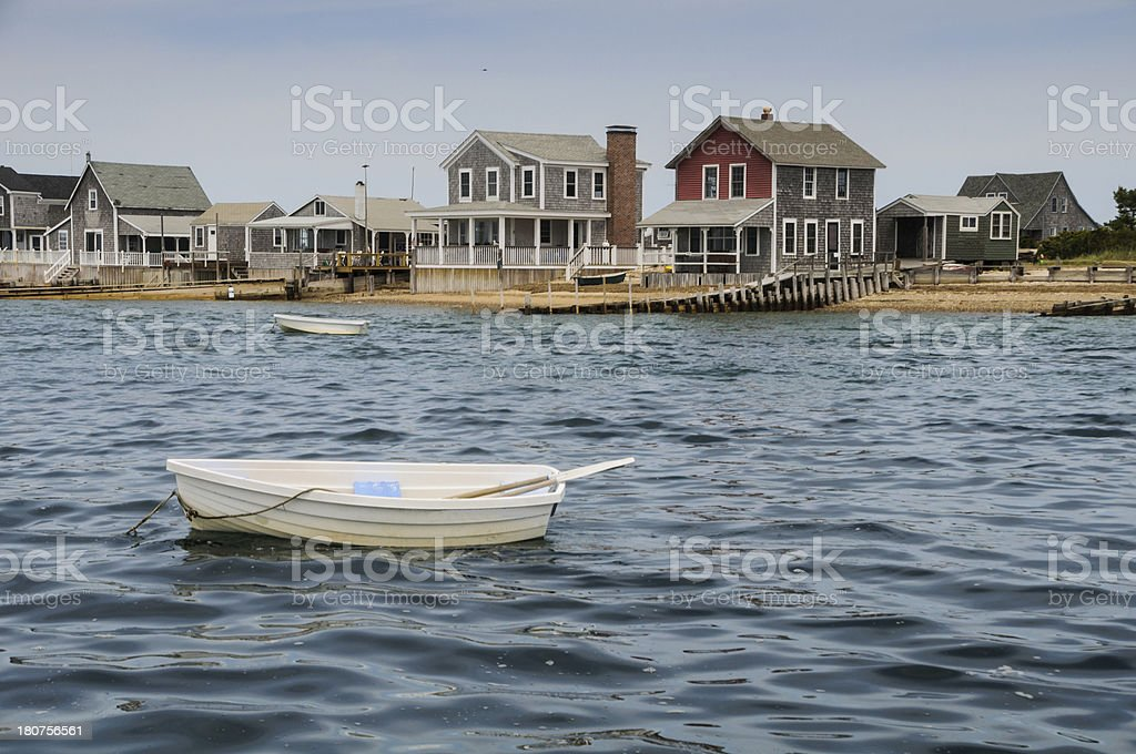 Cottage Colony royalty-free stock photo