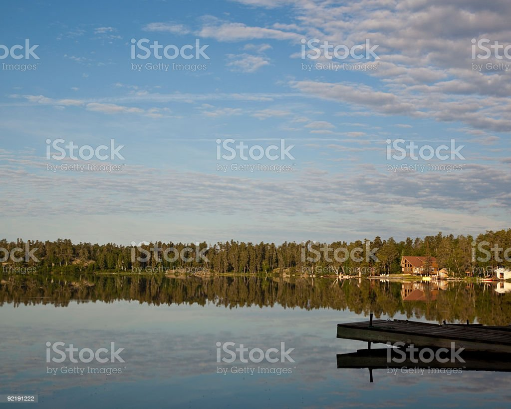Cottage Country royalty-free stock photo