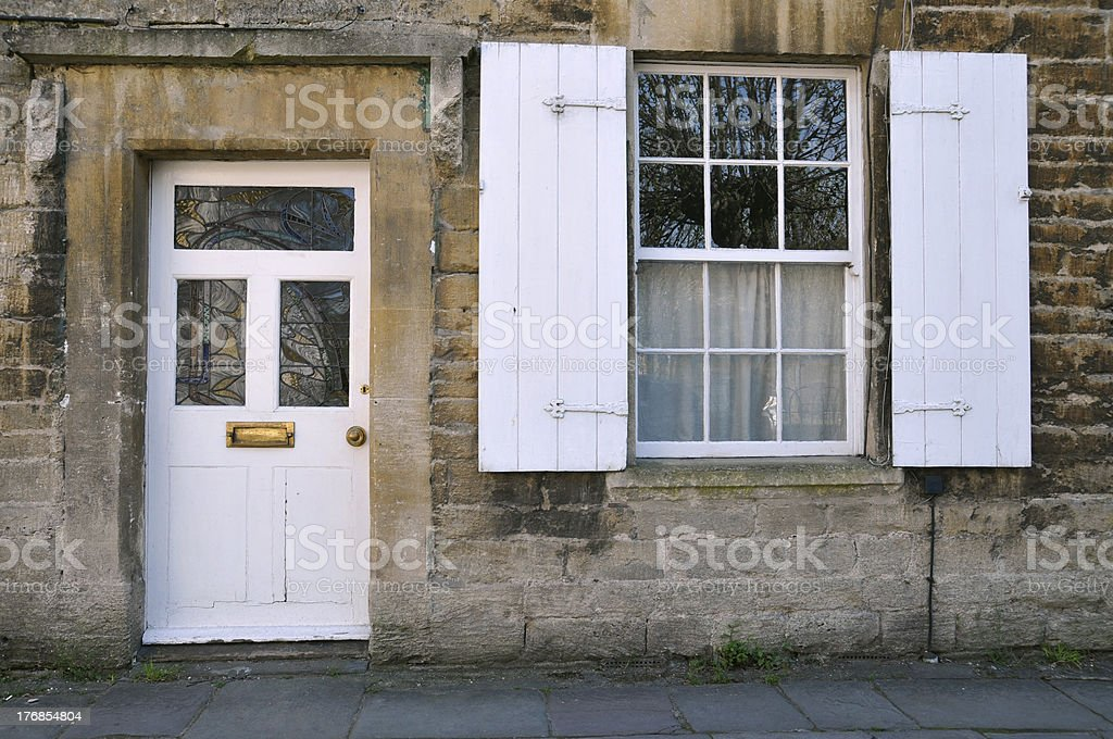 Cottage Exterior royalty-free stock photo