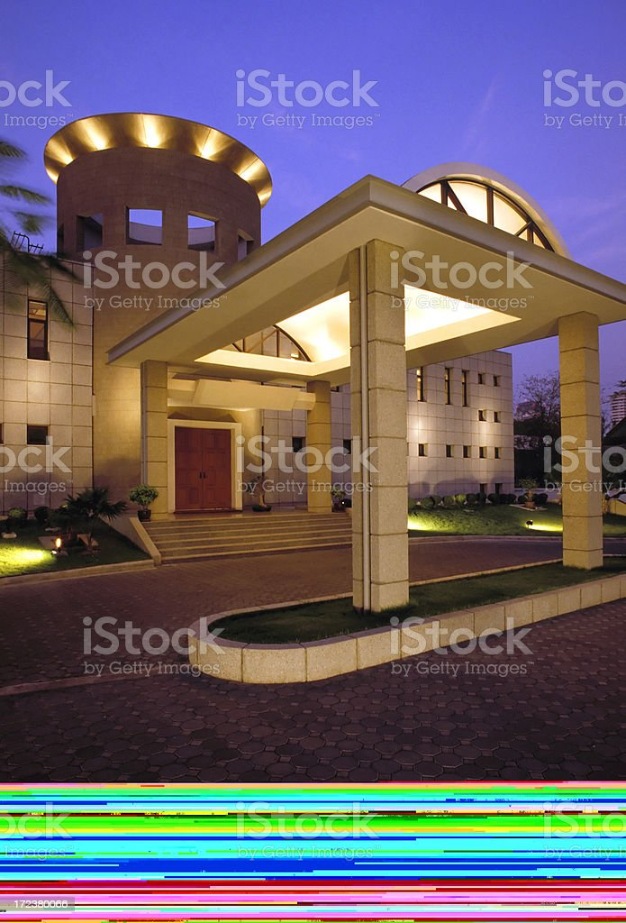 cottage interior log home royalty-free stock photo
