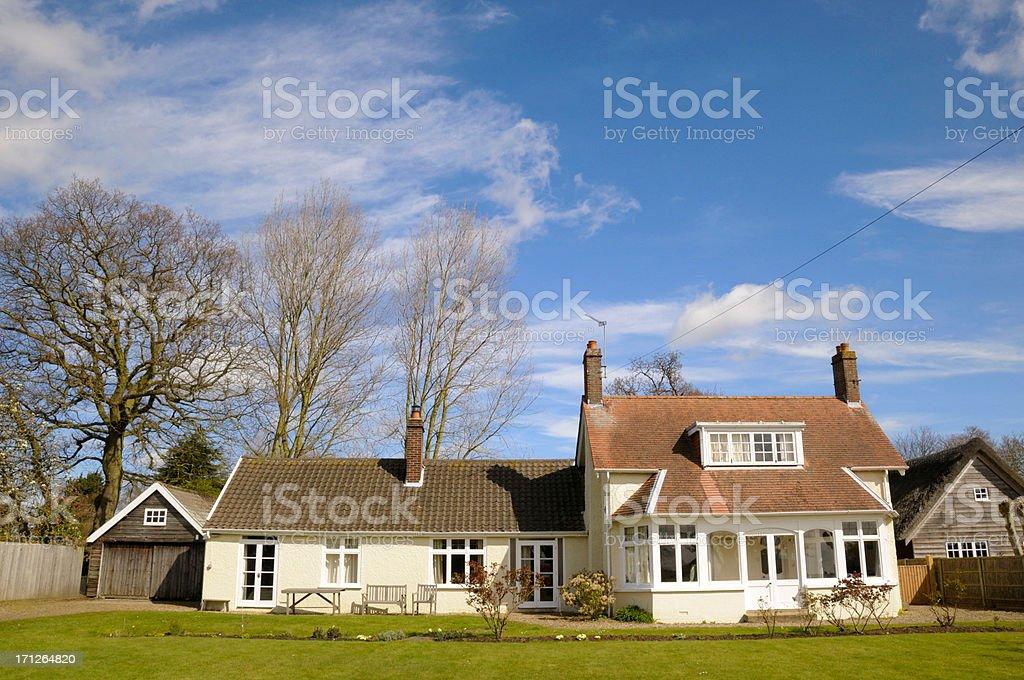 Cottage royalty-free stock photo