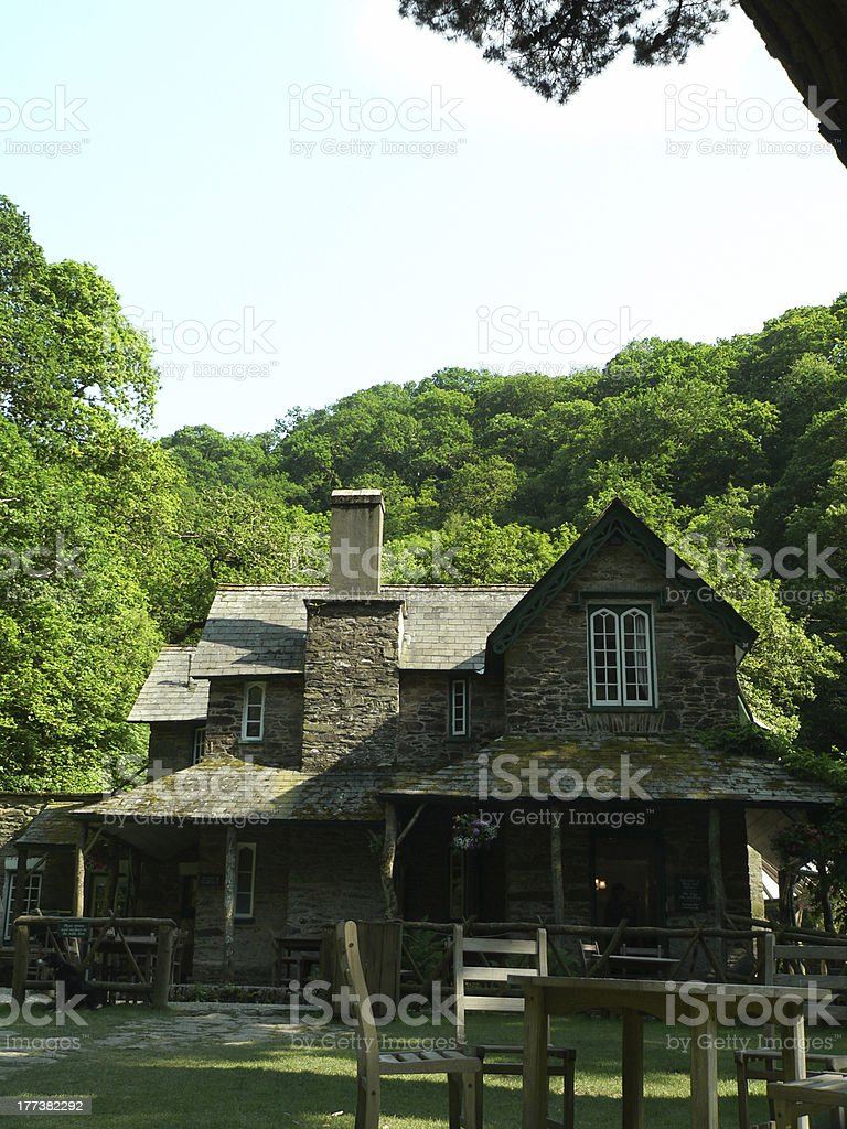 Cottage stock photo