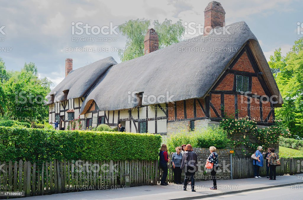 cottage royalty-free stock photo