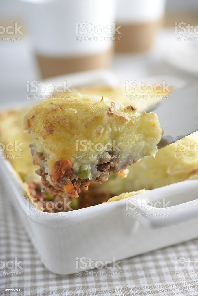 Cottage pie royalty-free stock photo