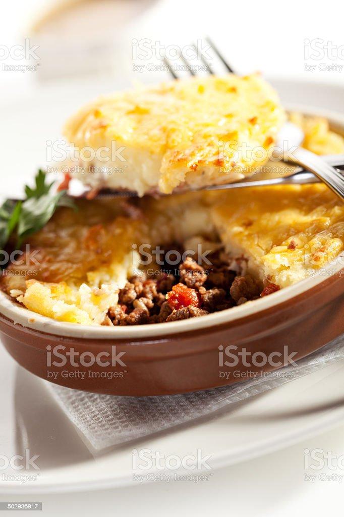 Cottage Pie stock photo