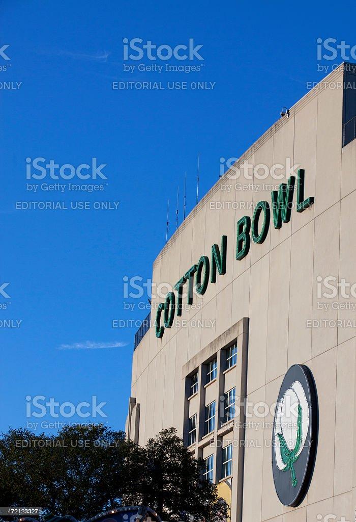 Cotton Bowl Stadium royalty-free stock photo