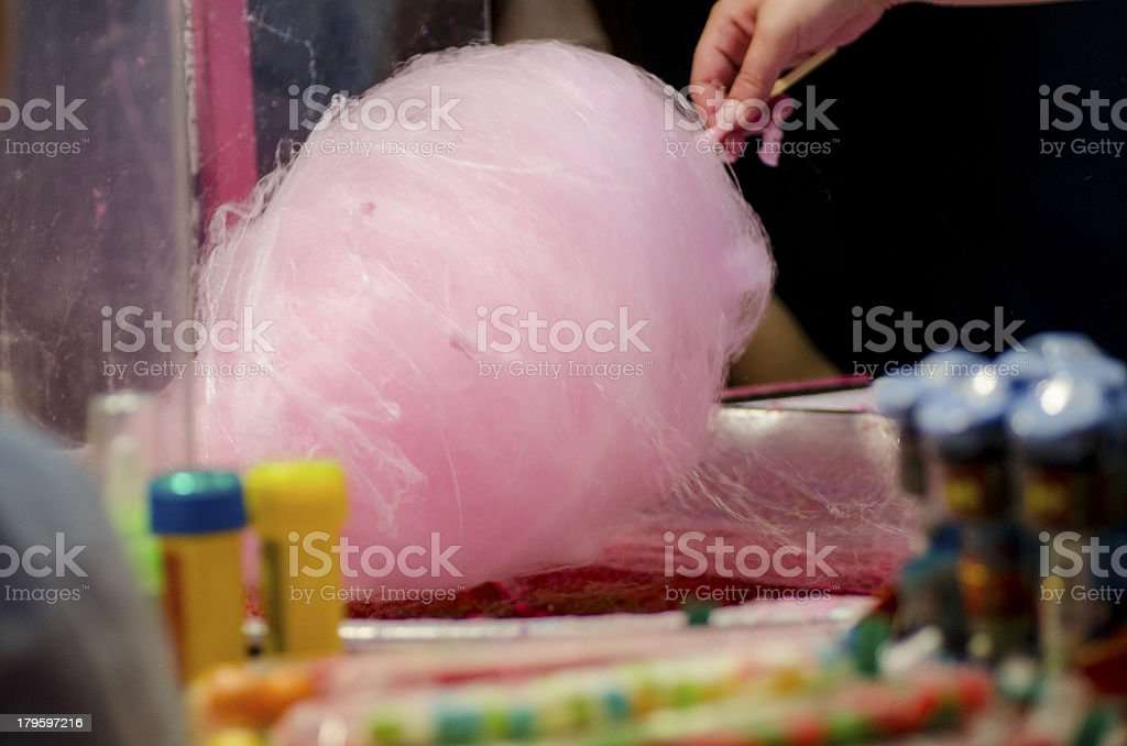Cotton Candy royalty-free stock photo