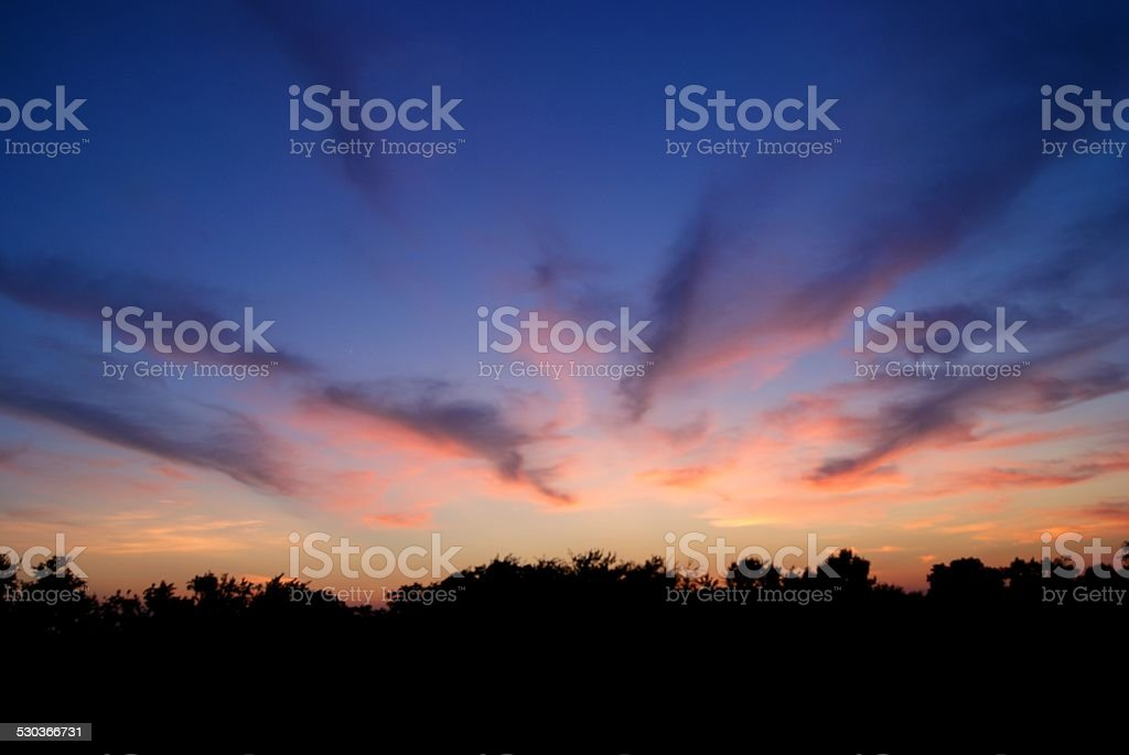 Cotton Clouds royalty-free stock photo