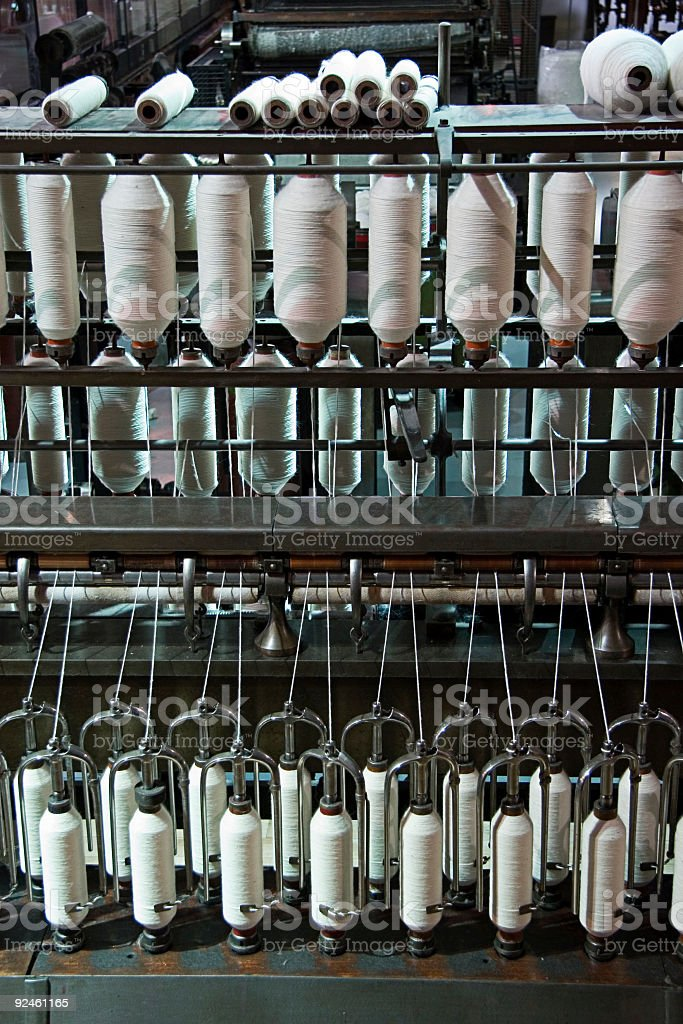 Cotton Factory royalty-free stock photo