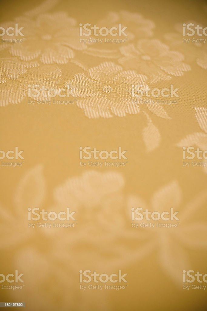 Cotton flower embroidery royalty-free stock photo