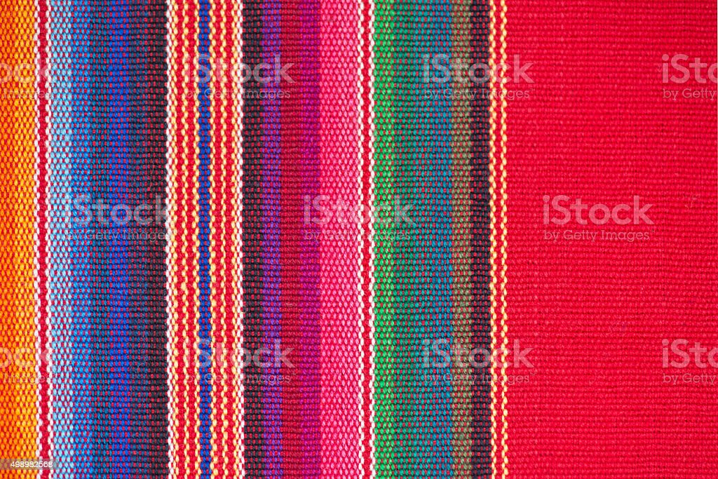 Cotton, Linnen, Wool Blanket Detail Banner stock photo
