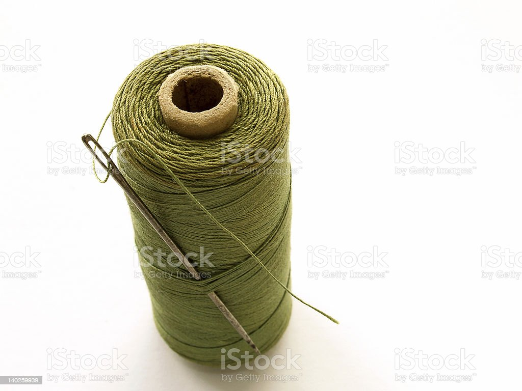 Cotton Reel royalty-free stock photo