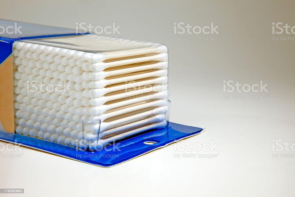 Cotton Swabs stock photo