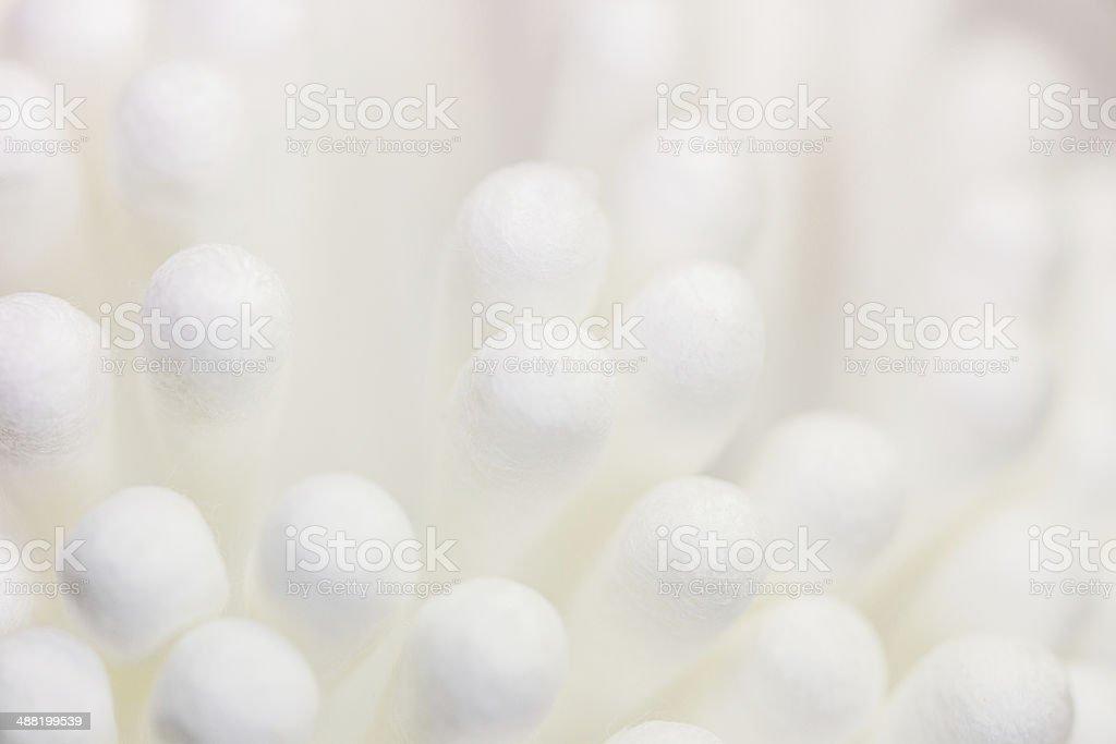 Cotton swaps. stock photo