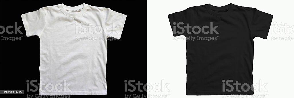 cotton T-shirt stock photo