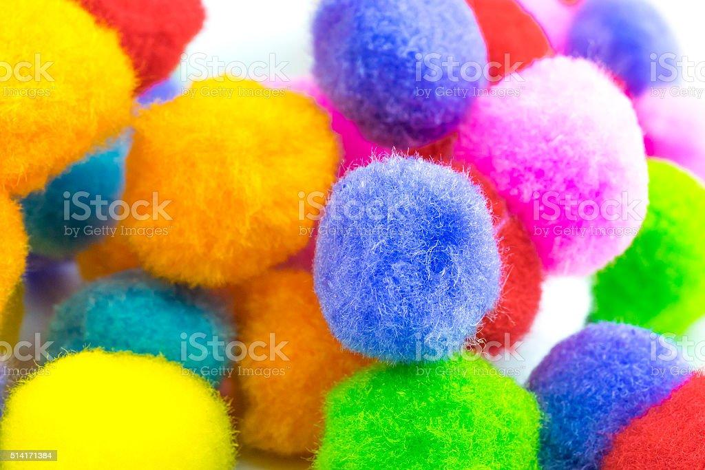 cotton wool stock photo