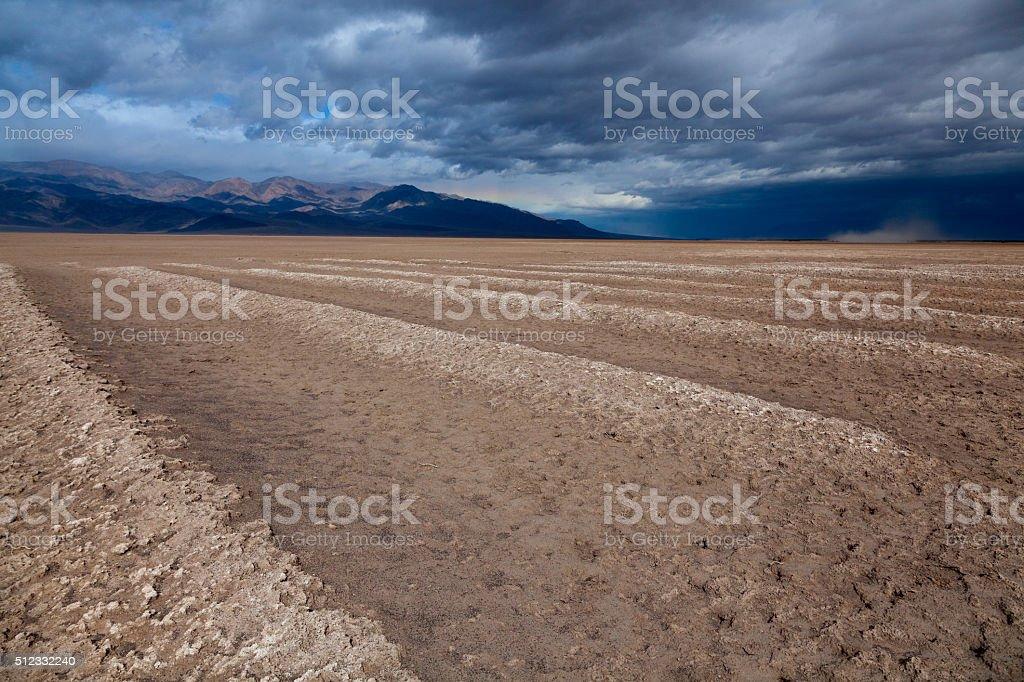 Cottonball Basin stock photo