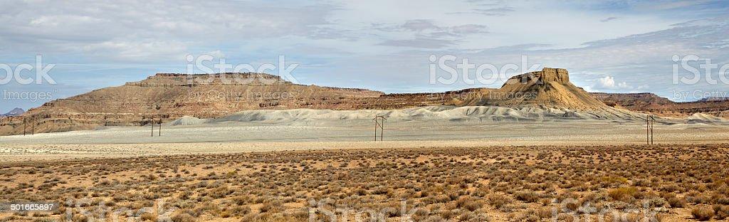 Cottonwood Canyon Road, Paria, Utah, USA stock photo