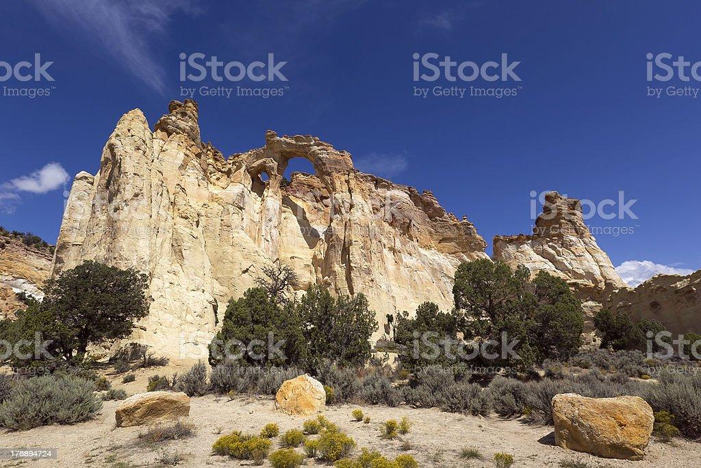 cottonwood canyon road stock photo