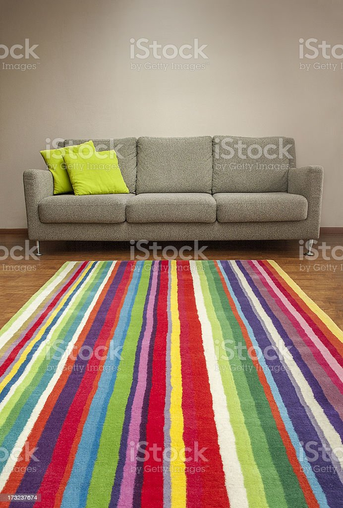 couch & carpet | portrait version royalty-free stock photo