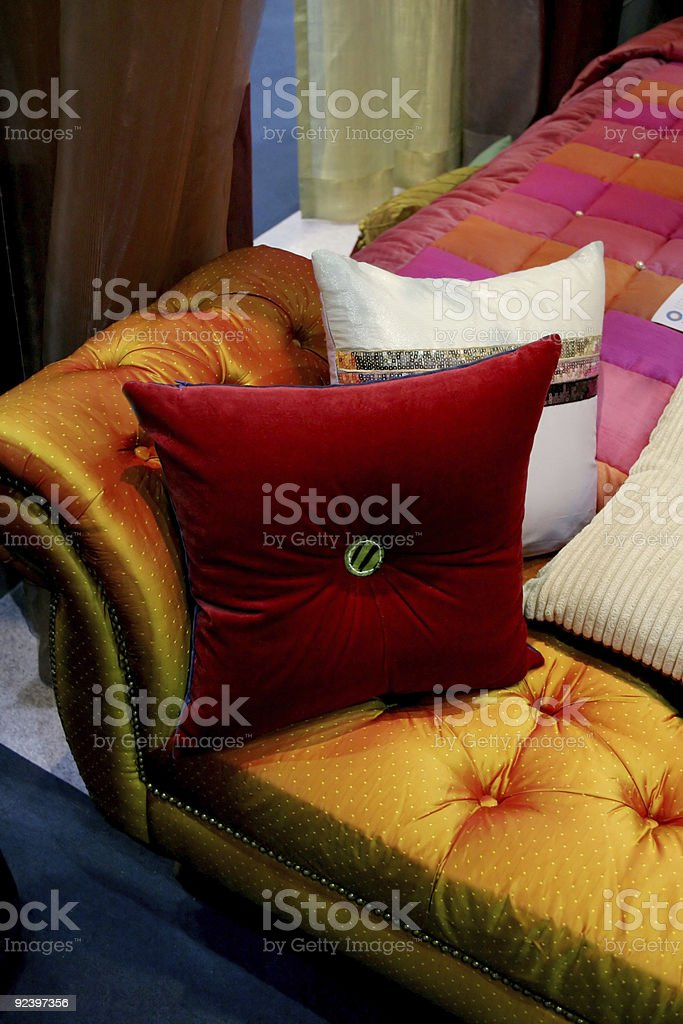 Couch colors royalty-free stock photo