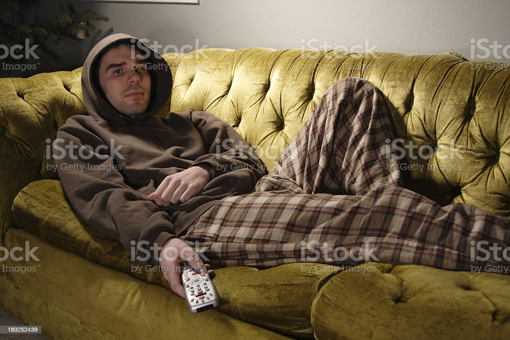 couch man stock photo