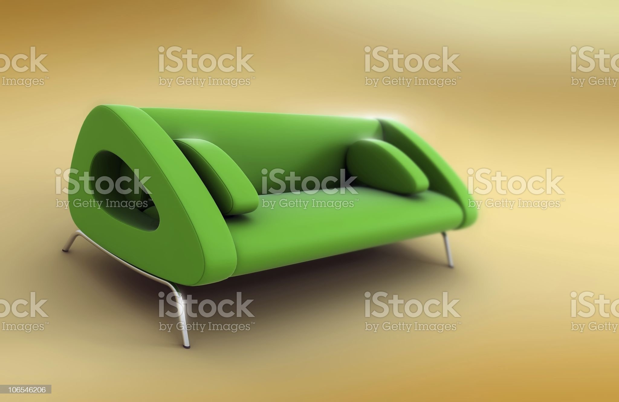 Couch royalty-free stock vector art