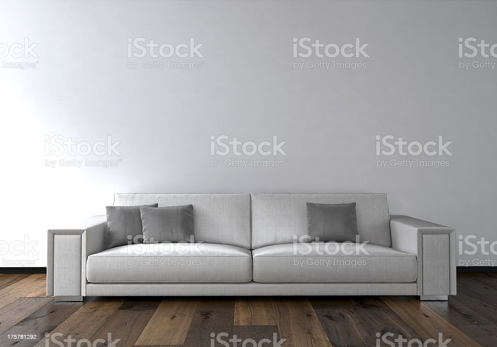 couch with white background royalty-free stock photo