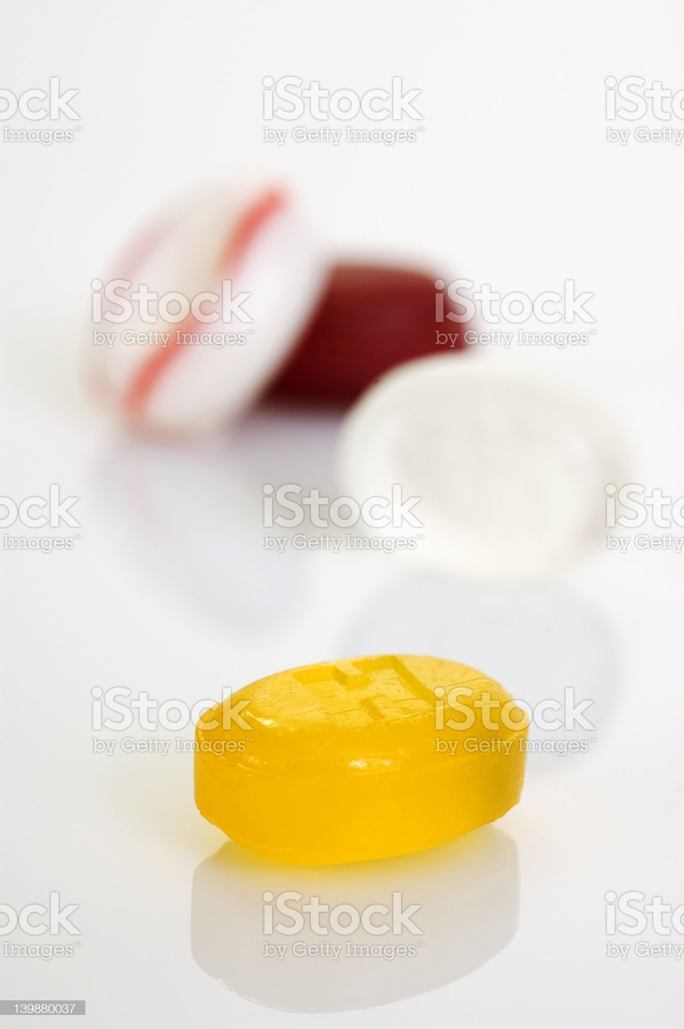 Cough drops royalty-free stock photo