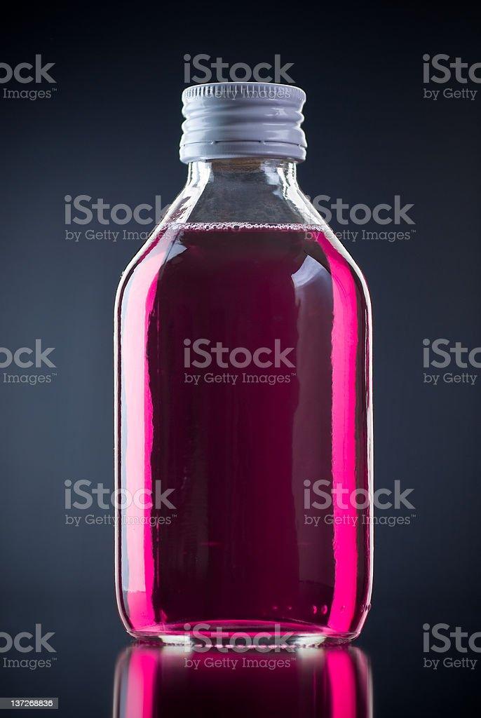 Cough Medicine stock photo