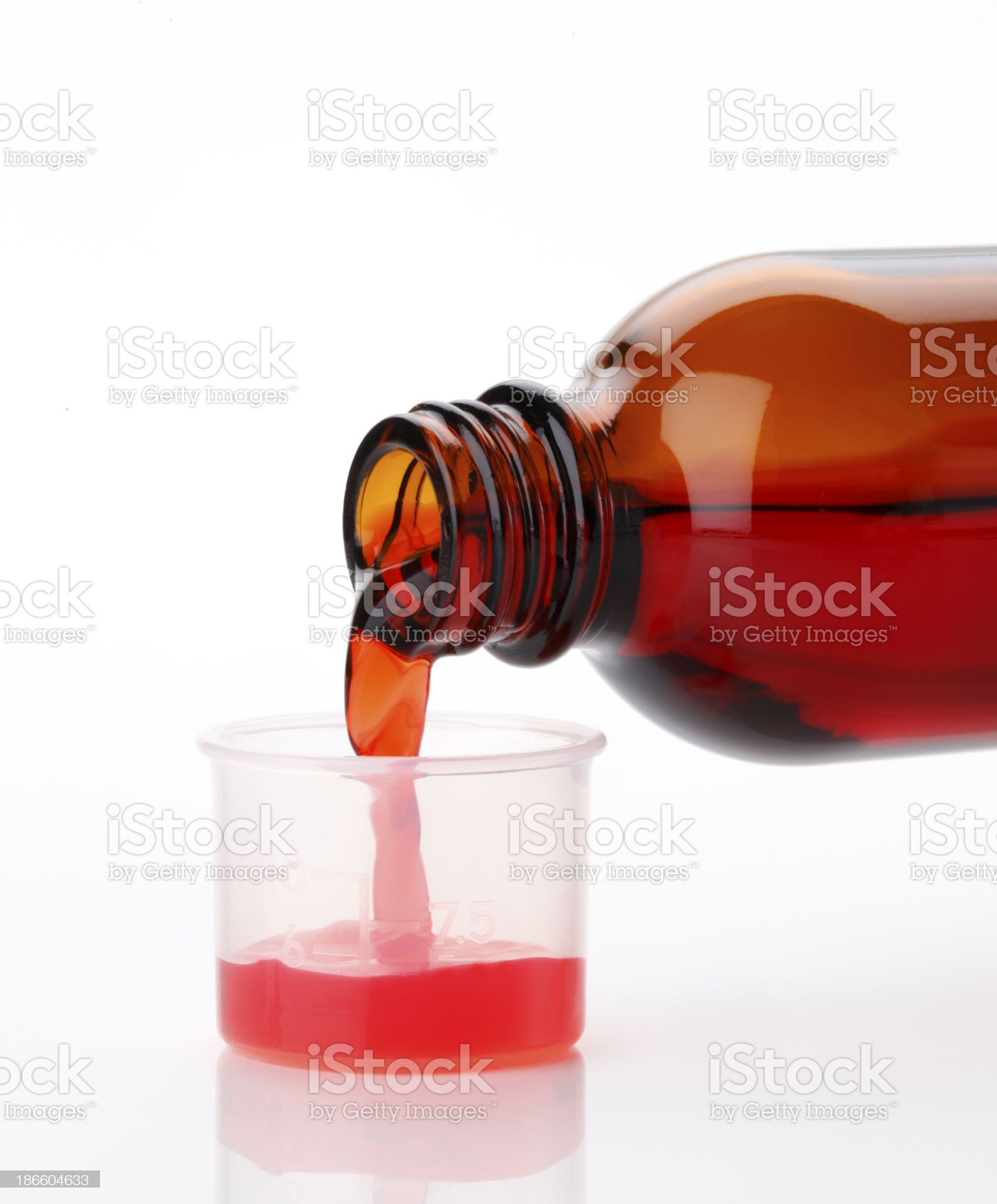 Cough Syrup royalty-free stock photo