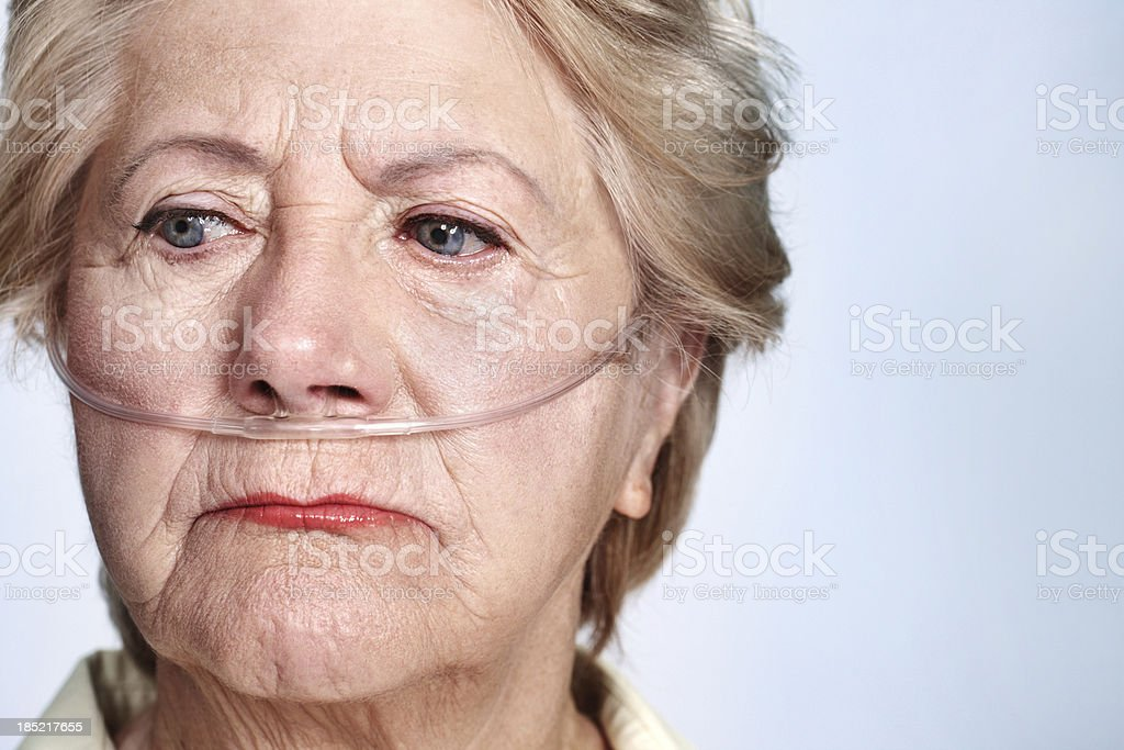 Could I have prepared better for illness in later life? royalty-free stock photo