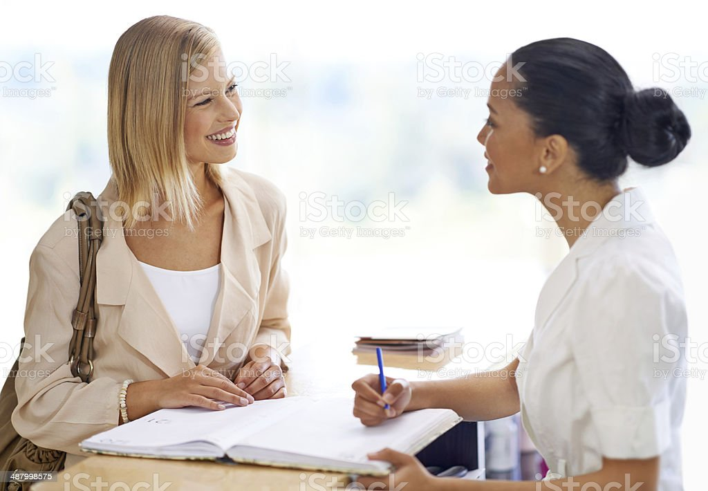 Could I have your contact details please? stock photo