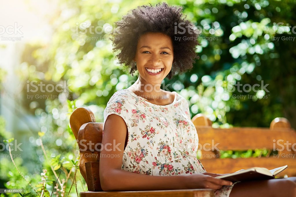 I could read all day everyday stock photo