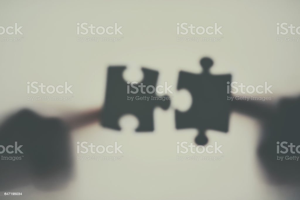 Could this be that perfect fit? stock photo