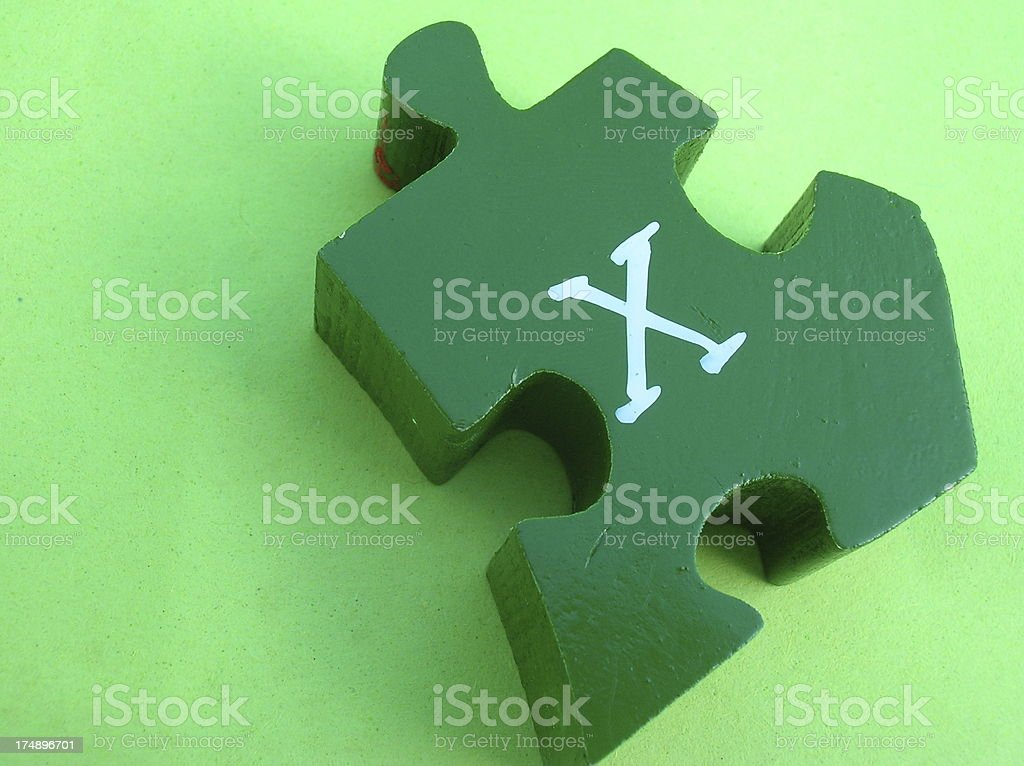 Could this be the missing X factor? royalty-free stock photo