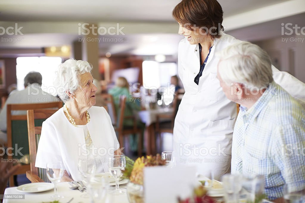 Could we have a menu please? royalty-free stock photo