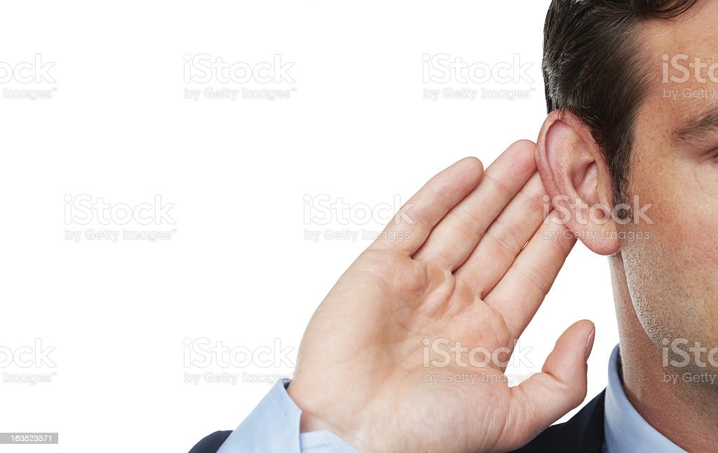 Could you repeat that? stock photo