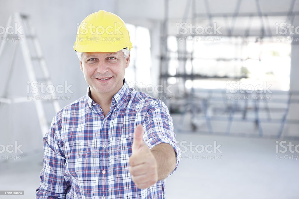 I couldn't be happier with my work royalty-free stock photo