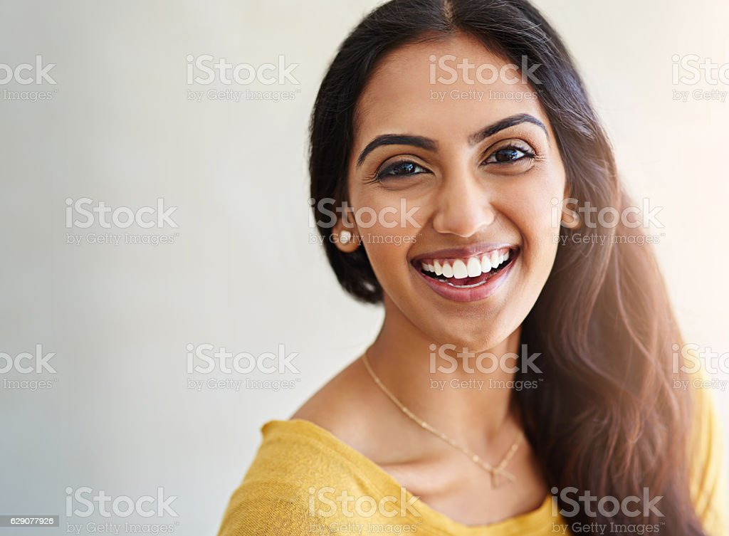 I couldn't be more happier with my life stock photo