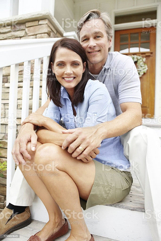 I couldn't have asked for anything more in life royalty-free stock photo