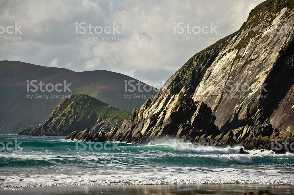 Coumeenole Beach stock photo