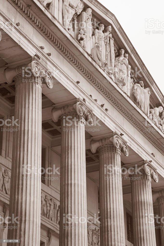 Council House - City Hall, Nottingham stock photo