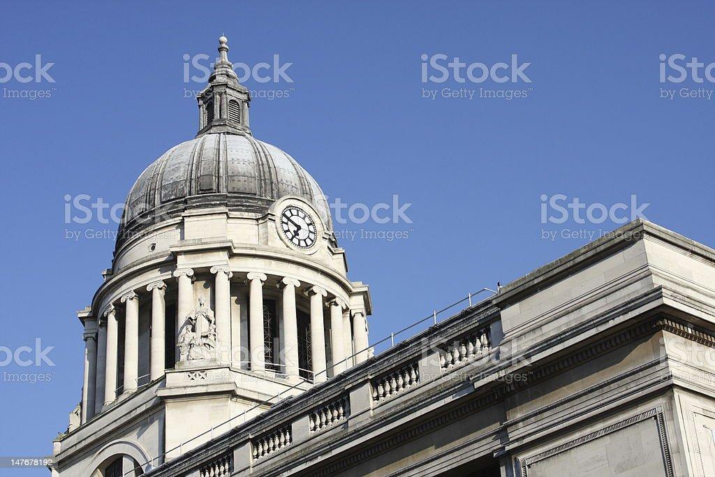 Council House, Nottingham, England, U.K. stock photo